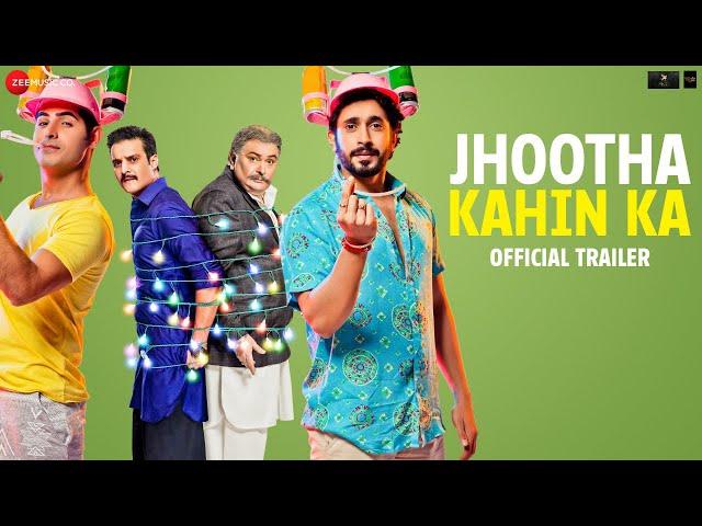 Jhootha Kahin Ka - Trailer |Rishi K, Jimmy S,Sunny S,Omkar K | YoYo Honey Singh,Sunny Leone | 19July