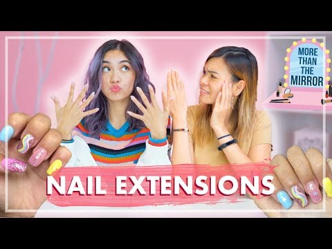 Nail Biters Get Nail Extensions for the FIRST TIME!
