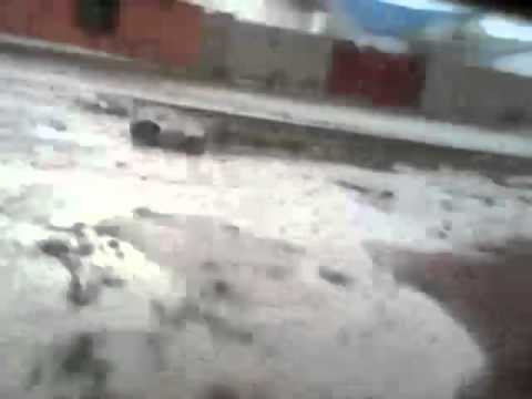 MASSIVE HAIL STORM IN PARTS OF LUSAKA Captured By Ngoma Blessings 2
