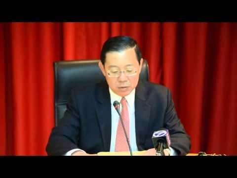 Ketua Menteri Pulau Pinang Akan Saman New Straits Times