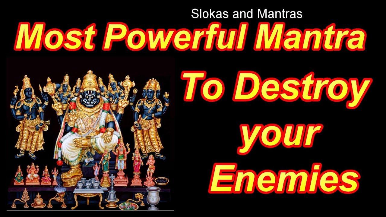 Powerful Mantra to destroy Enemies || Powerful Narasimha Mantra