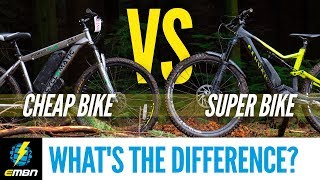 Cheap E- Bike Vs Super E-MTB | What