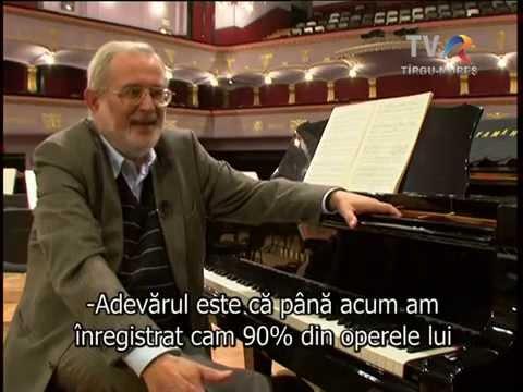 Interviu cu pianistul Jandó Jenő în emisiunea Portré, TVR Tîrgu Mureş
