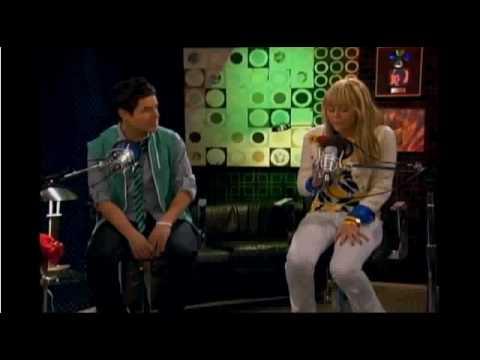 SNEAK PEAK of David Archueta on Hannah Montana HQ
