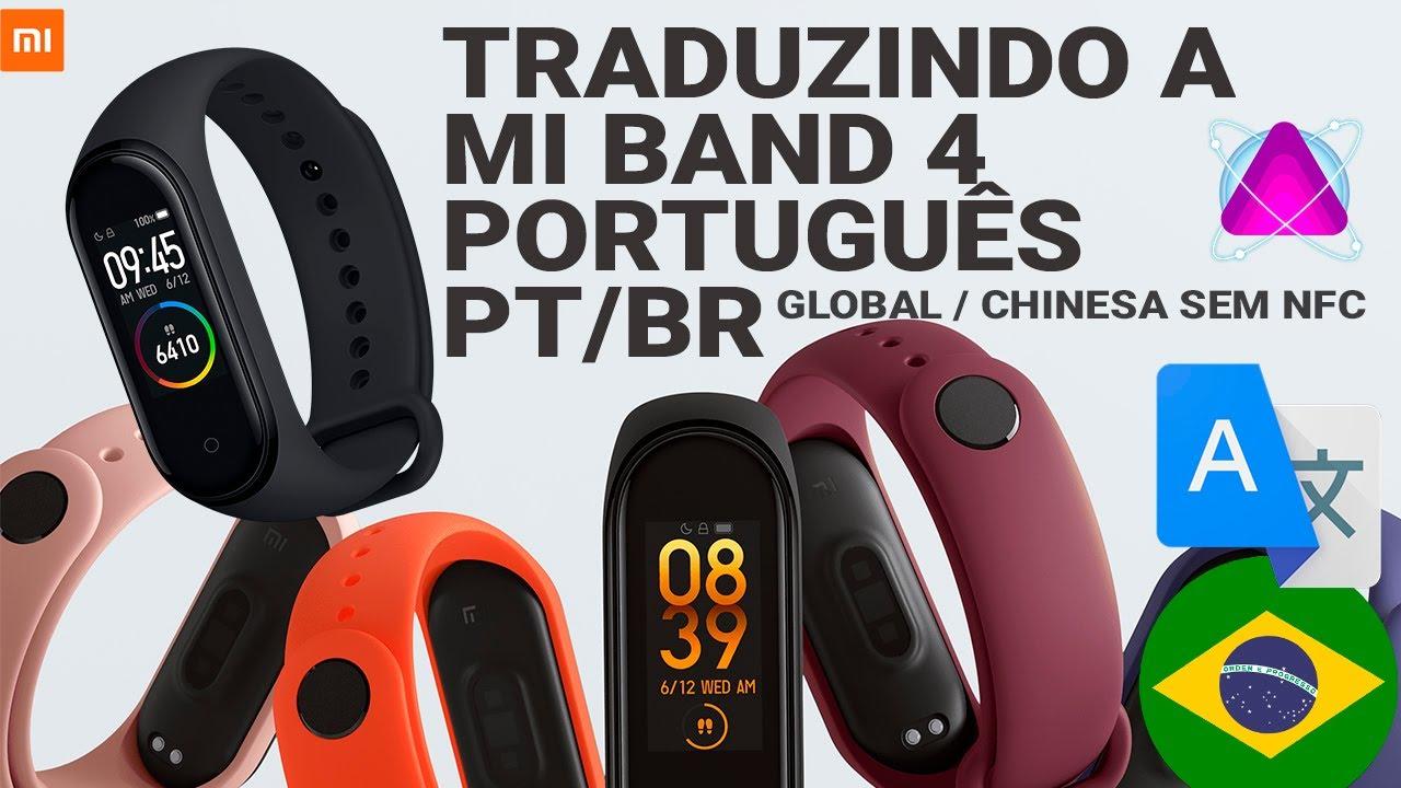 Portuguese of brazil Resources v62 MB4 | Xiaomi Mi Band 4