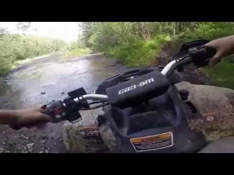 First person ride on 2014 Can-am Outlander 1000 XMR