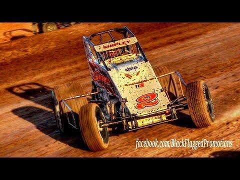 NAPA Non Wing SprintCar Main At Canyon Speedway Park May 28th 2016