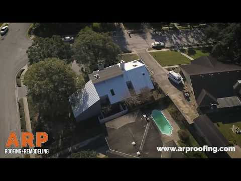 Metal Roof Replacement // ARP Roofing & Remodeling