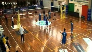 18-04-2014: Semifinale NATURA ENERGIE LAGONEGRO (PZ) -- MANGINI NOVI LIGURE (AL)