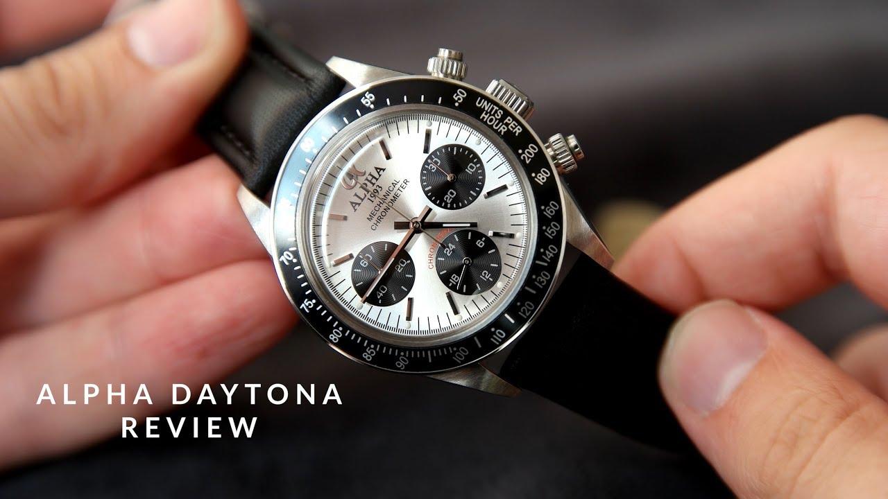 Alpha Daytona Panda Dial Review