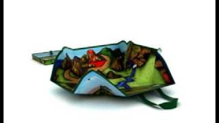 Neat-Oh! ZIPBIN™ MINI DINOSAUR PLAYSCAPE PLAYMAT AND STORAGE BIN thumbnail