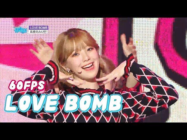 60FPS 1080P   FROMIS_9 - Love Bomb, 프로미스나인 - 러브밤 Show Music Core 20181020