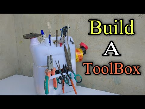 Download How To Make ToolBox || Homemade ToolBox with oil can