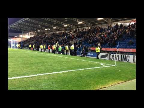 Chesterfield Fans storming pitch vs Solihull Moors. Carson Out! (26.12.2018)