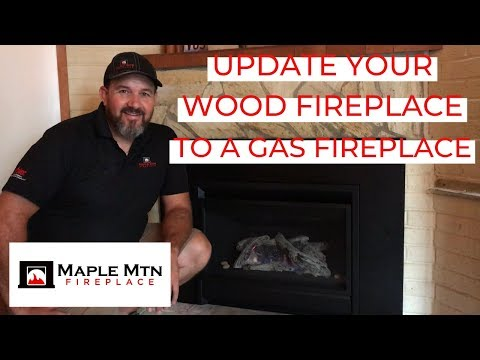 Update Your Wood Fireplace to a Gas Fireplace