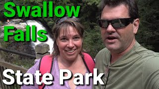 Swallow Falls State Park and Camping in Terra Alta, WV