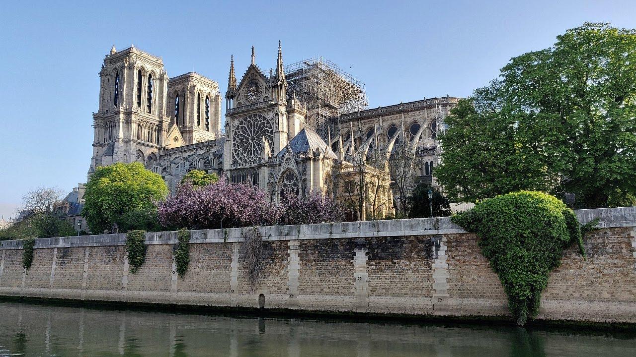 НОТР-ДАМ ПОСЛЕ ПОЖАРА СЕГОДНЯ | Cathédrale Notre-Dame de Paris