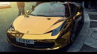 Carro Ferrari de Oro de Robinson Cano