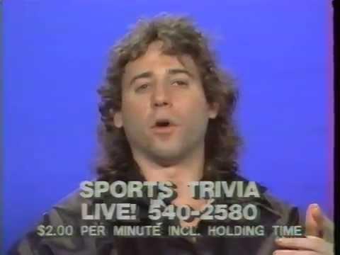 Sports Trivia Challenge WNYX-UHF TV 44 and 54 New York City