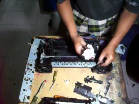 Disassembling and Reassembling Canon IP2770 printer