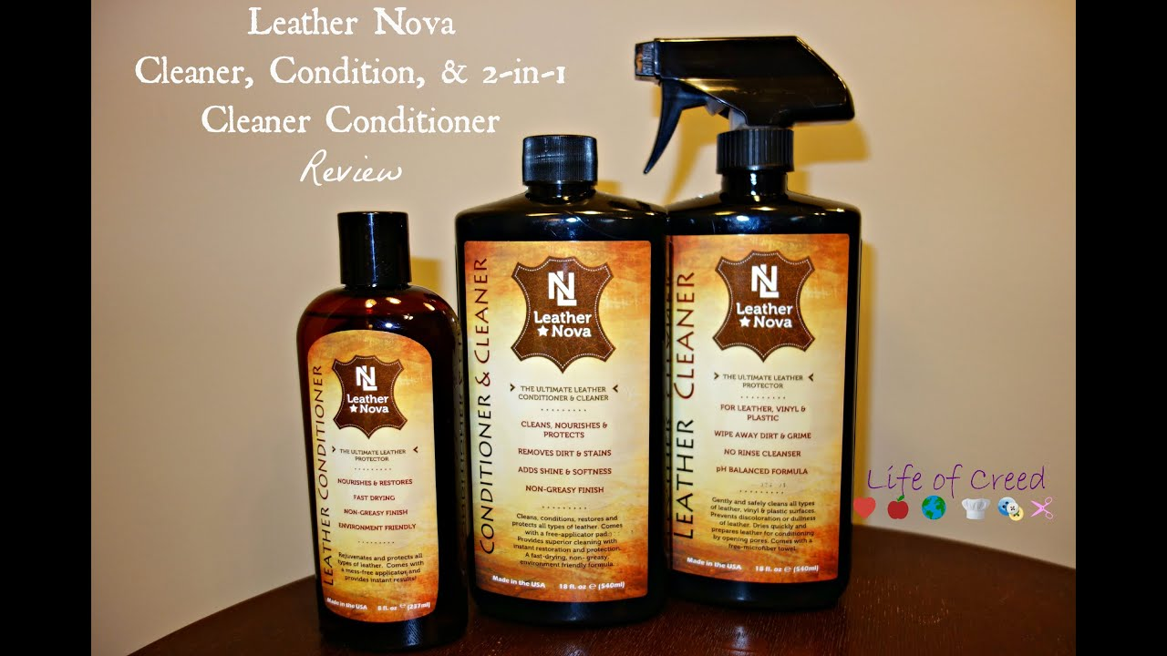 Leather jacket cleaner and conditioner - Fashion Friday Leather Nova Cleaner Conditioner And 2 In 1 Cleaner Conditioner Review