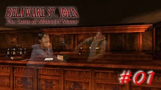 Delaware St. John 1: The Curse of Midnight Manor ⫸Englisch⫷ #01