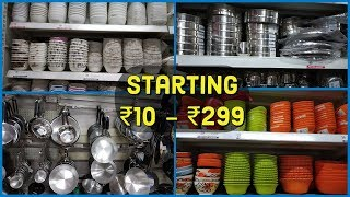 CHEAPER Than Dmart? | Kitchen Products For Very Cheap Prices | Vishal Mega Mart Kitchen Products