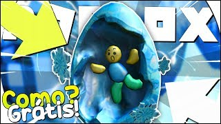 COMO GANHAR o EGG de GELO no ROBLOX - Freeze Tag [Eggs on Ice] [Egg Hunt]