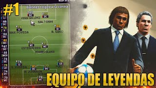 PES 2013 - Liga Master | INICIAMOS EL PROYECTO MAS ÉPICO | #1