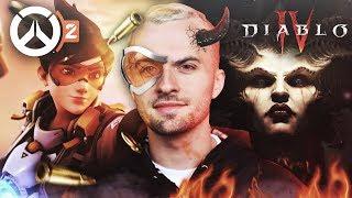 J'AI JOUÉ À OVERWATCH 2 ET DIABLO 4 ! 🤩 (Blizzcon 2019)