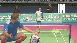 10 SHOCKING Umpire Calls / Decisions in Badminton
