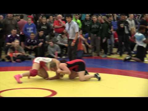 2014 Matmen Classic: 60 kg Jayd Davis vs. Larissa Bufalino