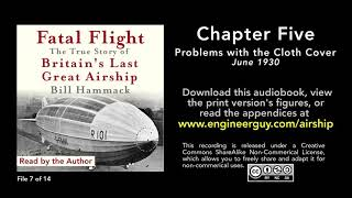 Fatal Flight audiobook: Chapter Five: Problems with the Cloth Cover (7/14)