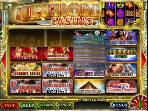 Video Superomatic casino