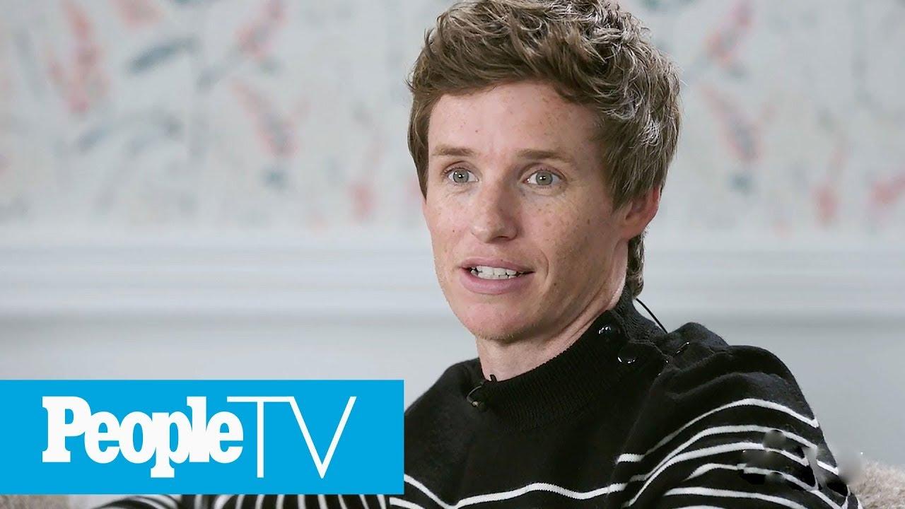 Eddie Redmayne Did 'Drama School' With 'The Aeronauts' Stunt Dog | PeopleTV