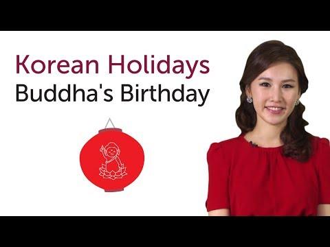Learn Korean Holidays - Buddha's Birthday