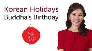 Learn Korean Holidays - Buddha