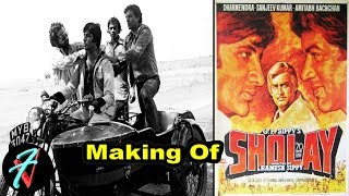 The Making of SHOLAY the Classic | Sholay Movie Behind the Scenes | Amitabh Bachchan | Dharmendra