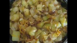 Готовим быстро и вкусно. Овощное рагу.