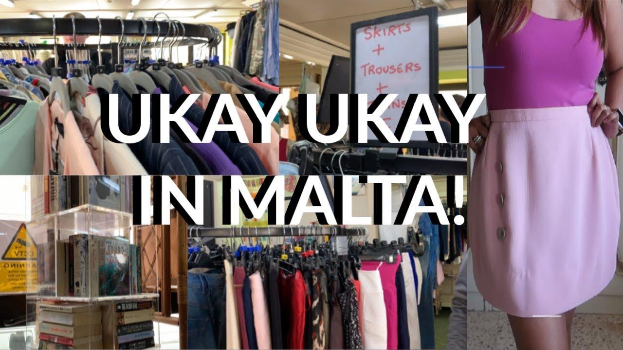 [VIDEO] - Ukay Ukay in Malta / Thrift Flip / Charity Shop (jenrose G) 1