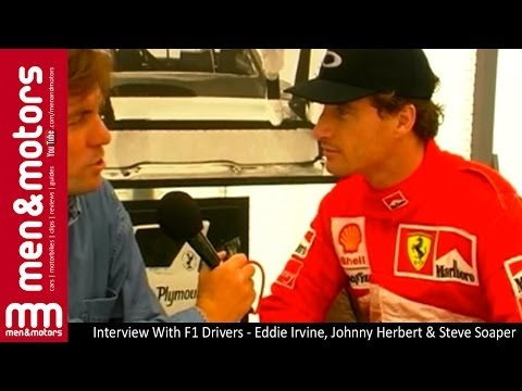 Interview With F1 Drivers - Eddie Irvine, Johnny Herbert & Steve Soaper