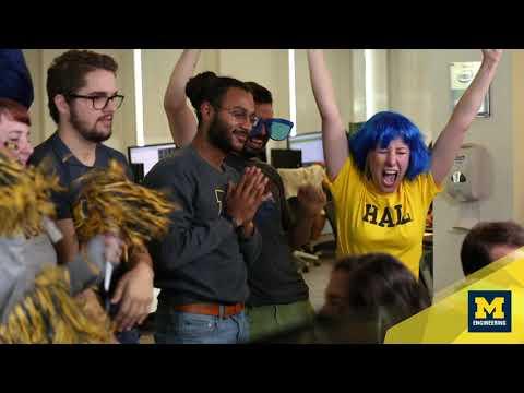 Coding fans   Michigan Engineering ad