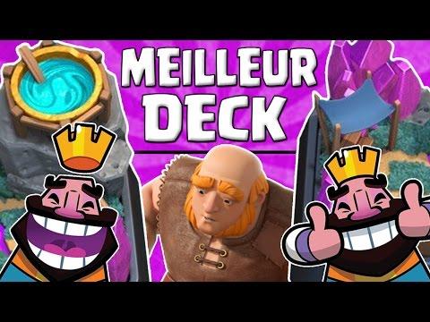 Un super deck sorciere pour arene 5 et plus clash for Deck arene 5 miroir
