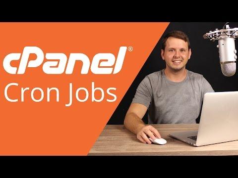 cPanel beginner tutorial 10 - Cron Jobs