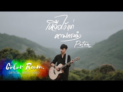 เหลือไว้แค่ความทรงจำ  - POTAE 【OFFICIAL MV 】