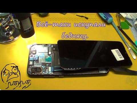 🔧Ремонт💦 утопленного телефона XIAOMI Redmi Note 7/Видеоотчет