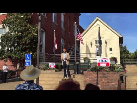 "Walter Zinn talks about ""a better Mississippi"""