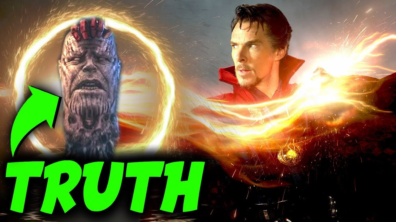 Confirmed The Real Reason Why Dr Strange Could Not Cut Thanos Secret Magic In Avengers Endgame