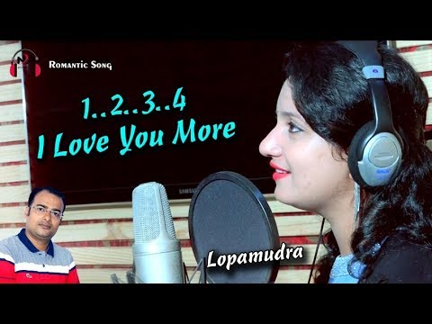 New Odia Song | 1 2 3 4 I Love You More | Singer Lopamudra | Romantic Number | Music Saroj Kumar