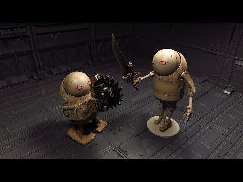 Bring Arts: Machine Lifeform Set Figure Review